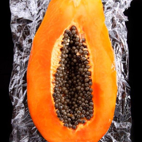 Papaya seeds make healthy oil.