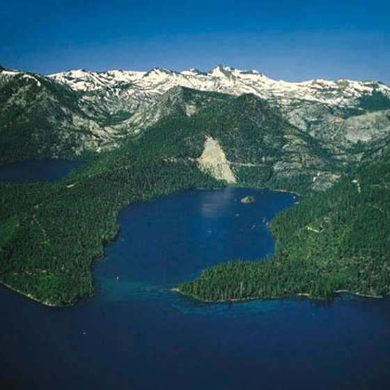 Emerald Bay is just one part of Lake Tahoe.