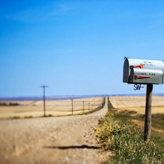 No matter how far out in the country you are, you probably have a physical address.
