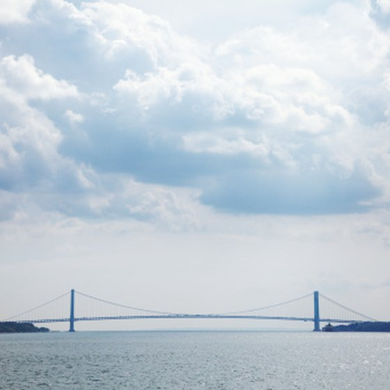 New York's Verrazano-Narrows Bridge takes the Pennsylvania E-ZPass.