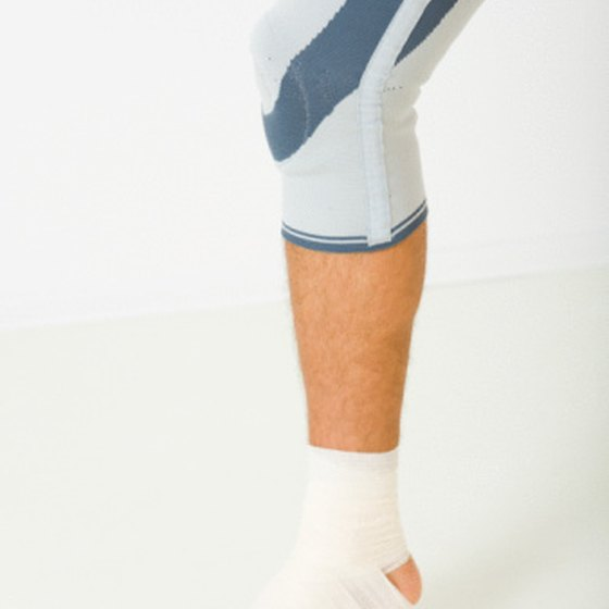 Ankle and hip problems often accompany knock knees.