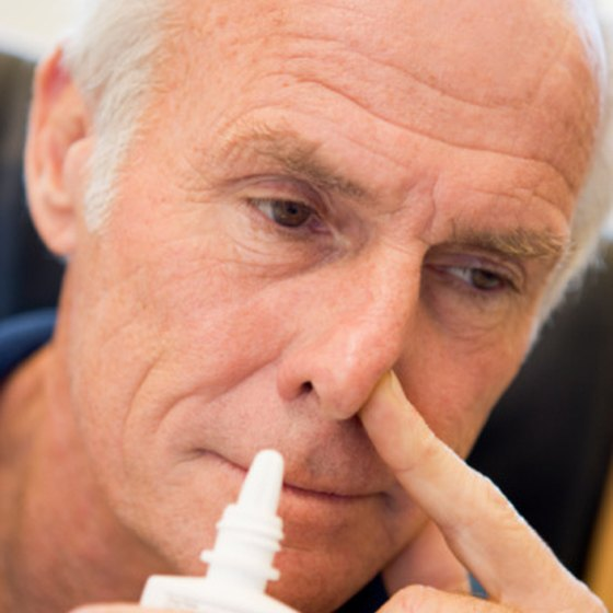People use nasal sprays for relief of congestion related to allergies or colds.