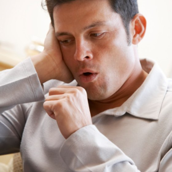 Constant coughing after meals may be an indication of other health problems.