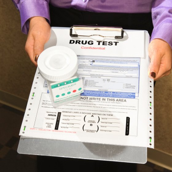 List any medications you are taking on your drug screening form.