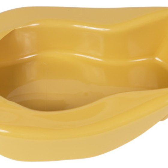 Contour bedpans fit the shape of a patient's posterior.