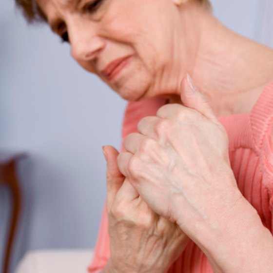 Arthritis often causes trigger finger.