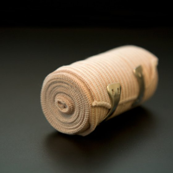Bandages are made from numerous materials, depending on the intended application.