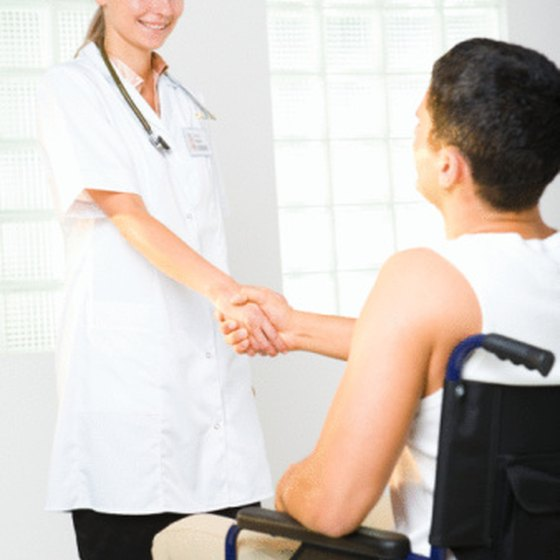 Provision of wheelchair access may be prompted by a disability letter.