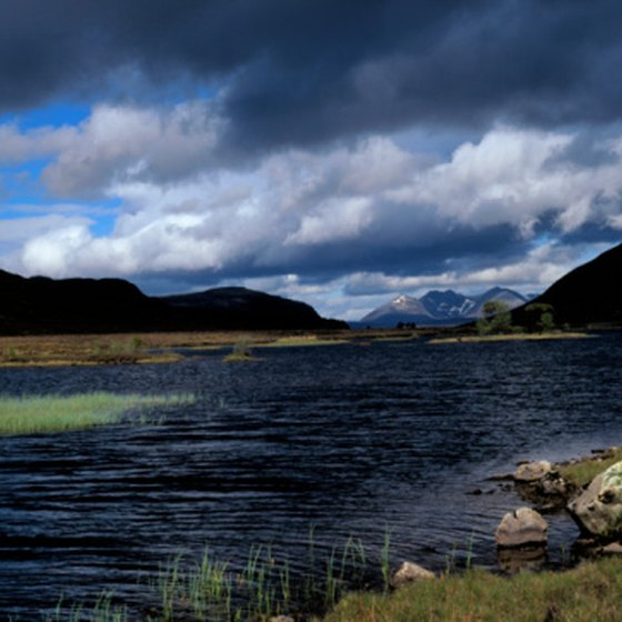 Some of Scotland's most beautiful scenery includes moors.