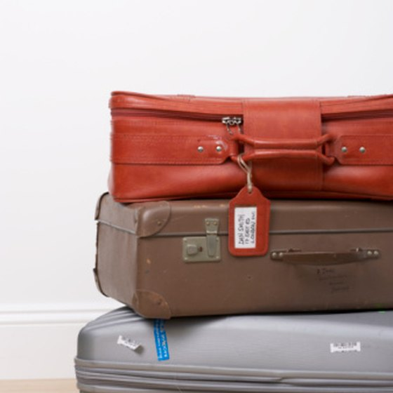 Travel can cause damage to your luggage.