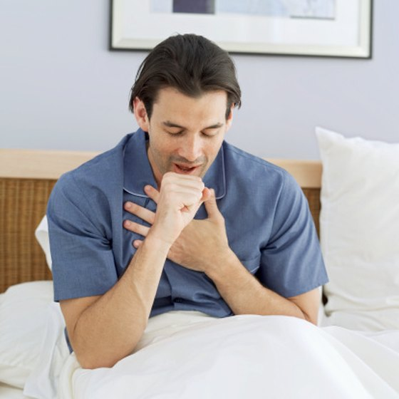 Coughing loosens the mucus that builds up in your chest.