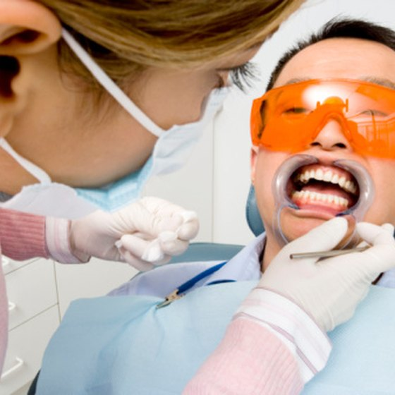 Professional teeth whitening can be accomplished with a variety of Crest Whitestrips.