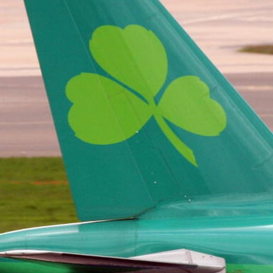 Aer Lingus operates non-stop connections between Ireland and five U.S. cities.