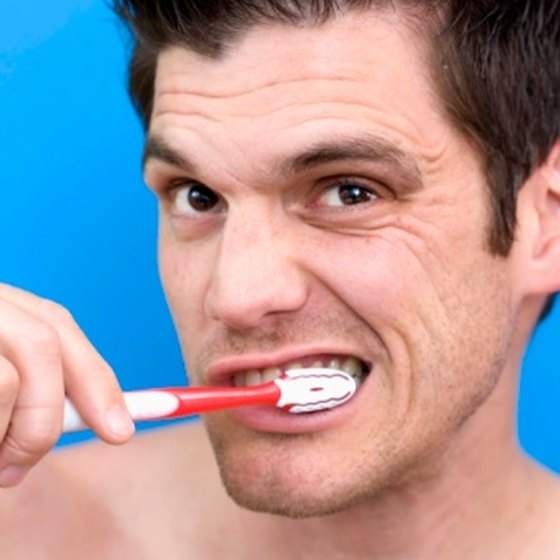 Brushing the right way can get rid of your gray smile.
