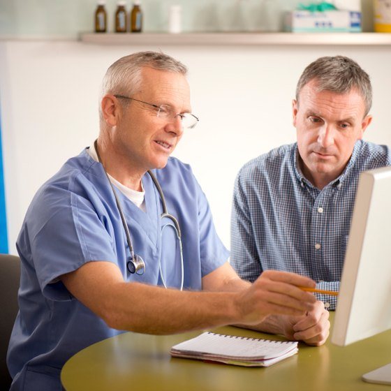 Discuss testing for prostate cancer with your doctor.