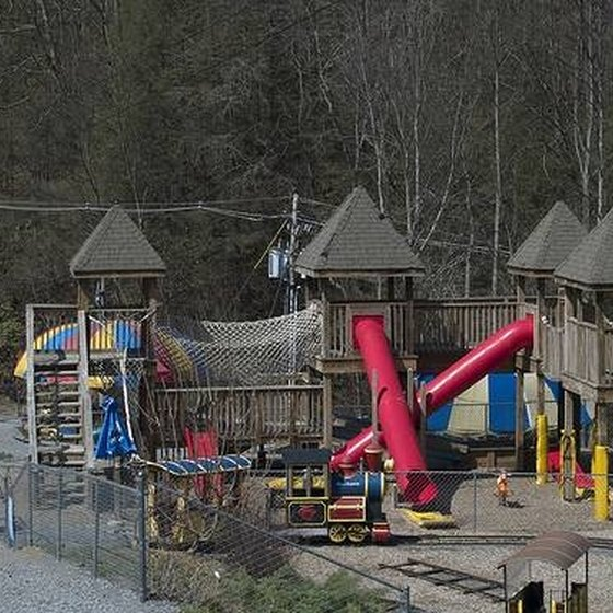 playground at OberGatlinburg