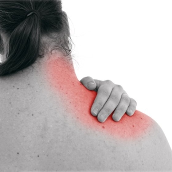 Upper Trapezius Sore Muscle Pain