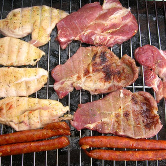 Protein sources like meat contain zero carbohydrates per serving.