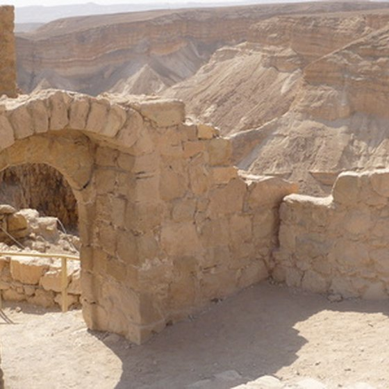 Trips to ancient ruins are featured on senior tours of Israel.