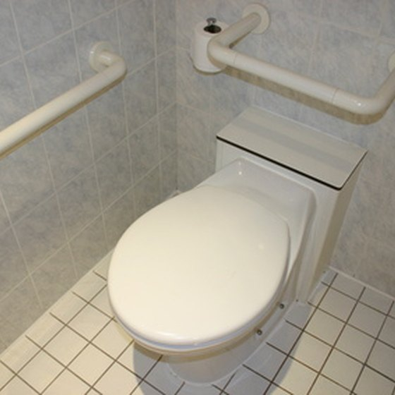 Handicap bathroom and restroom designs must comply to ADA standards.