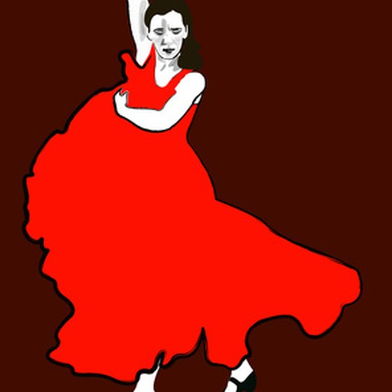 Traditional Cuban women's clothing has been influenced by Spanish dancing.