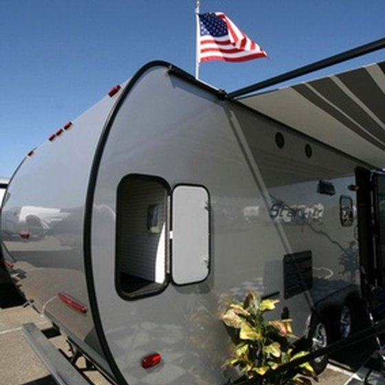 Professional campers use many of the same external materials as utility trailers.