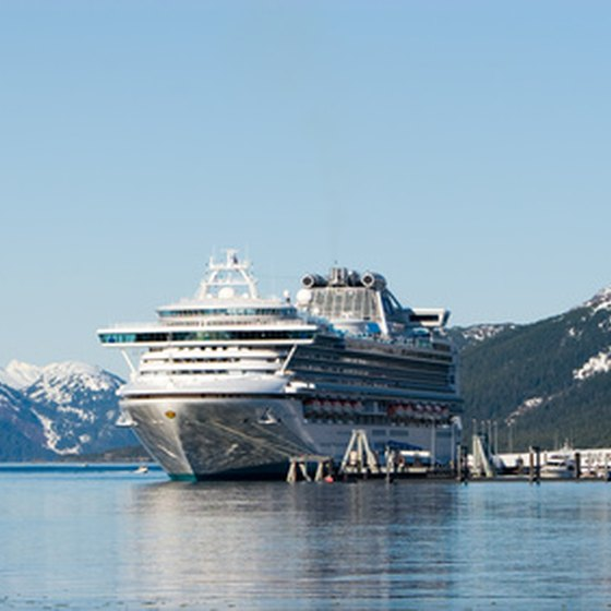 Alaskan cruise ports include Juneau, Seward and Anchorage.