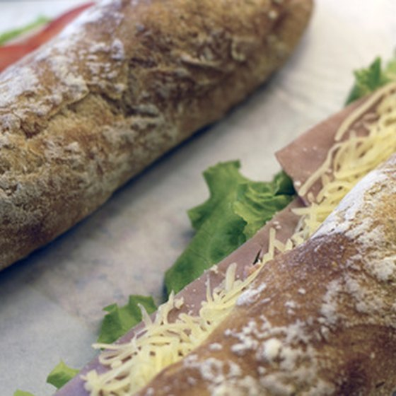 Subway's Classic menu combines cold and hot selections.