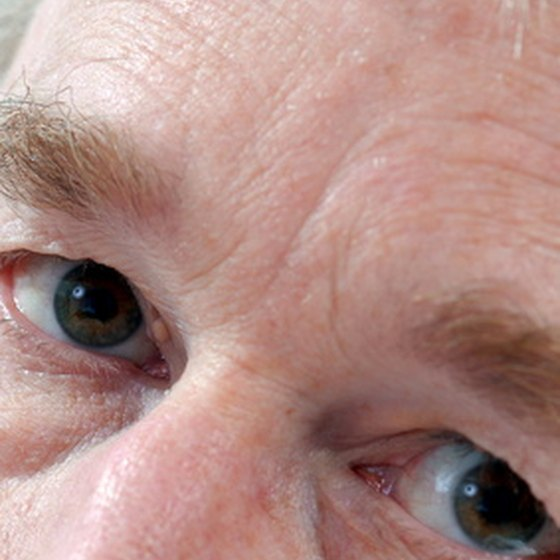 The eyes have a number of built-in defenses to protect vision.