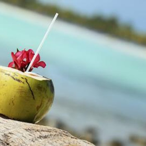 Coconut water does not taste like coconuts but has a mildly sweet, nutty taste.