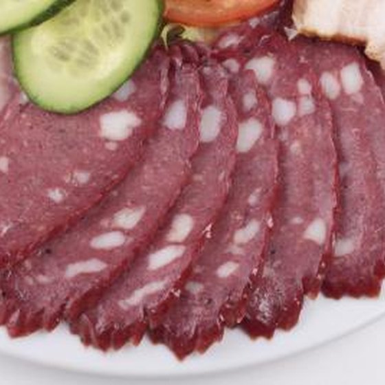 Cured meats are very high in nitrates.