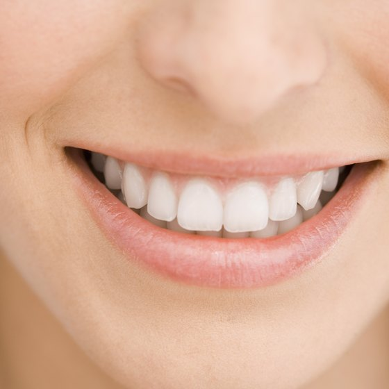 Eating certain foods can make your teeth their whitest.