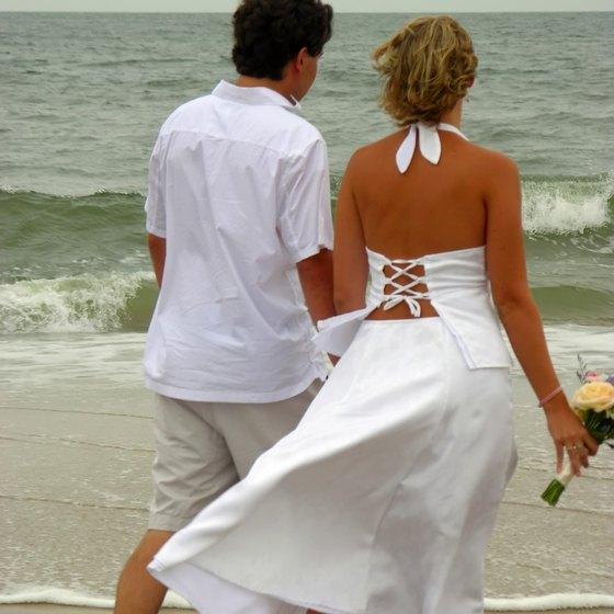 Beach Destination Wedding Dresses Usa Today