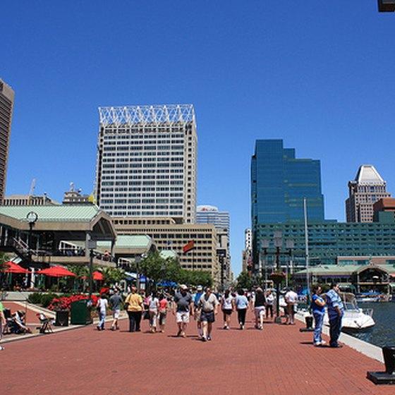 Attractions In Baltimore S Inner Harbor