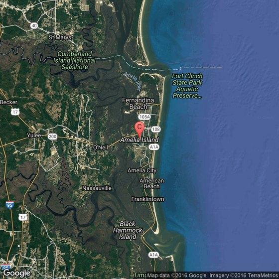 Amelia City Florida Map.Amelia Island Golf Courses Usa Today