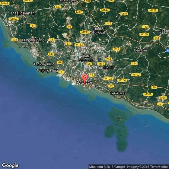 Malaysia Beaches: Beaches In Malacca, Malaysia