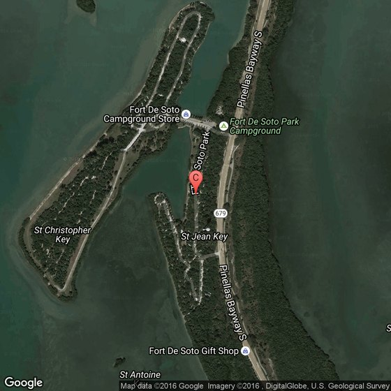 Camping At Fort Desoto In Pinellas County Florida Usa Today