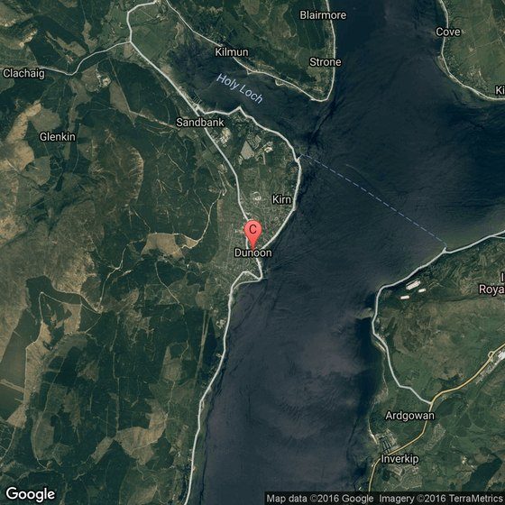 Holy Loch Scotland Map.The Climate In Dunoon Scotland Usa Today