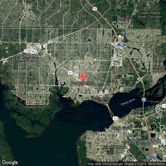 Map Of Port Charlotte Florida.Deep Sea Fishing In The Port Charlotte Florida Area Usa Today