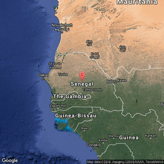 Senegal On Africa Map.Famous Places In Senegal Africa Usa Today