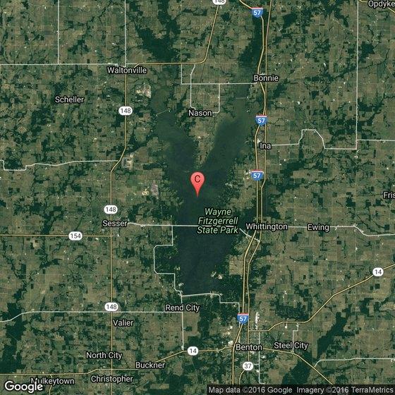 Rend Lake Illinois Map.Hiking Areas At Rend Lake Illinois Usa Today