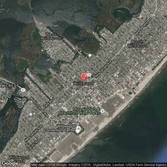 Island Beach State Park Nj: Hotels Or Motels Near Morey's Piers In Wildwood, New