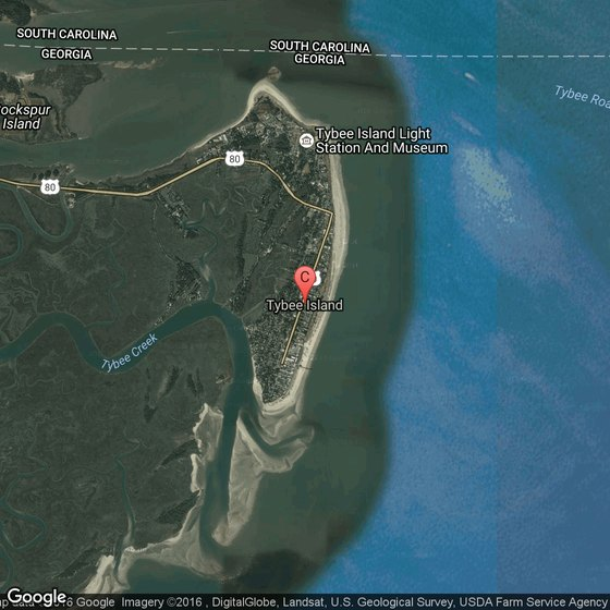 Little Tybee Island Map Kayaking on Tybee Island, Georgia | USA Today
