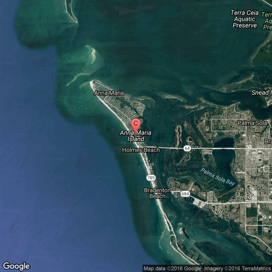 Holmes Beach Florida Map.Places To Stay On The Beach In Anna Maria Island In Florida Usa Today