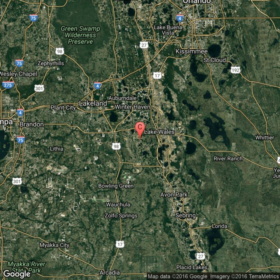 Map Of Polk County Florida.Recreation Parks In Polk County Florida Usa Today