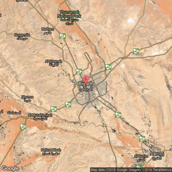 Restaurant in Riyadh, Saudi Arabia | USA Today on middle east map, riyadh on a map, world landforms map, jerusalem map, riyadh street map, damascus map,