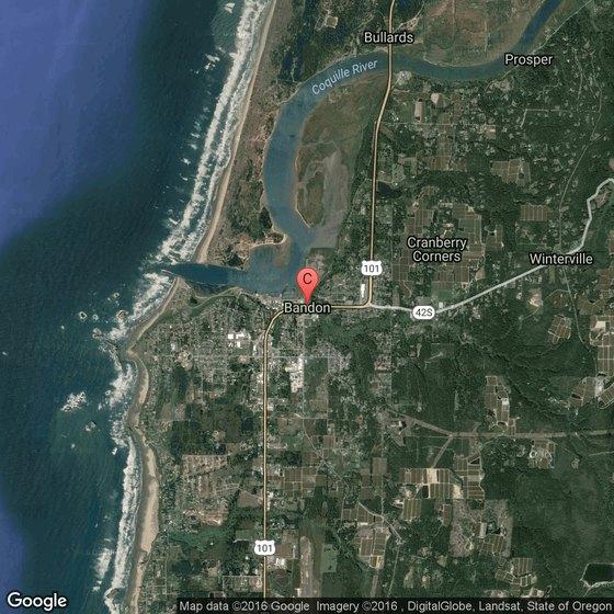Bandon Dunes Oregon Map.Rv Parks In Bandon Oregon Usa Today