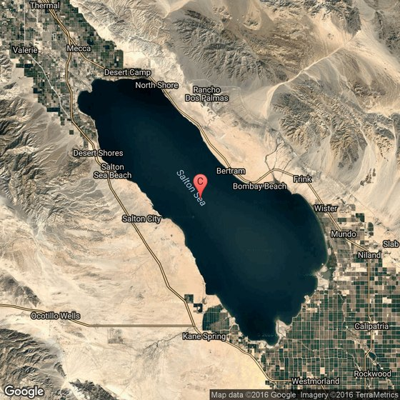 Salton Sea State Recreation Area | USA Today on volcano map, mariana trench map, peninsula map, sailing map, massif map, sound map, channel map, ocean map, estuary map, coral reef map, seabed map, mediterranean map, caribbean map, gulf map, glacier map, bay map, south east asia map, world map, lagoon map, lake map,