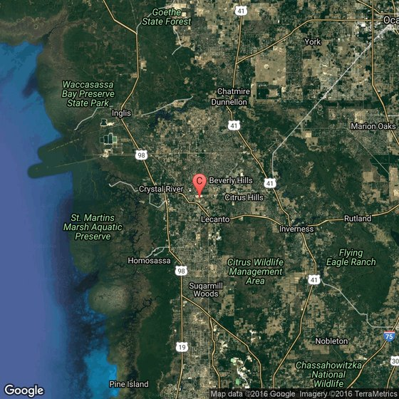 Florida County Map Google.Tourist Information In Citrus County Florida Usa Today