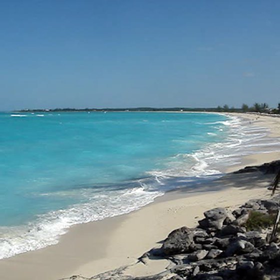 Beaches make Paradise Island a popular vacation spot.